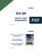 ICH Q9 Quality risk management. Presentación ASINFARMA
