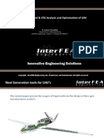 Modeling, Structural & CFD Analysis and Optimization of UAV