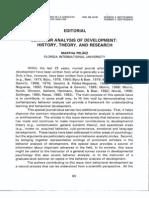 Martha Pelaez-Noguera - Behavior Analysis of Development. History, Theory and Research