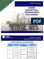 58665864 Diseno Conceptual Separadores Gas Liquido