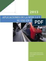 Aplicaciones de La Web 2.0 y Su Uso en El Aula