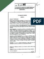 Ley 1562-2012 Riesgos