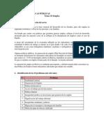 ANALISIS DE POLÍTICAS PÚBLICAS - Grupo EMPLEO