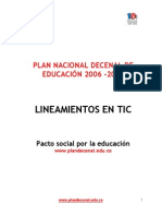Plan Decenal TICS