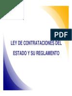 Ley de Contrataciones Del Estado - Luis Miguel Bossano
