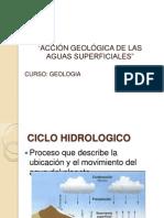Accion Geologica de Las Aguas Super