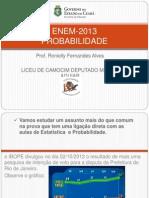 ENEM-2013 MATEMÁTICA