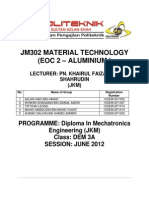 JM302 MATERIAL TECHNOLOGY EOC 2