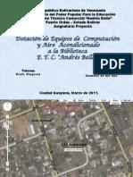 PRESENTACION PROYECTO DEFINITIVA 2010-2011