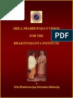 La Historia Del Bhaktivedanta Institute