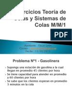 DSC - Ejercicios Sistema de Colas MM1