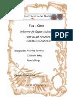 Informe Redes Electro Neumatico