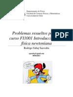 Apuntes UChile -  Problemas resueltos Introducción a la física newtoniana (Rodrigo Sabaj)