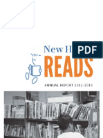 New Haven Reads Annual-Report 2012-2013