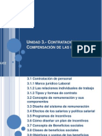 Unidad 3.- Contratación y Compensación de las personas
