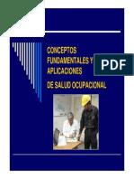 Diapositivas de Seguridad Industrial y Salud Ocupacional Modulo i - Conceptos Fundamentales