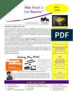 April 09 CIAA Newsletter