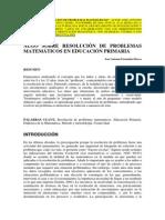 21. Algo Sobre Resolucion de Problemas Matematicos