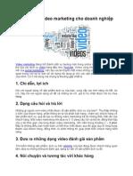 5 y tuong lam video marketing cho doanh nghiep