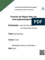 Alzar Pagina Con Paginawebgratis