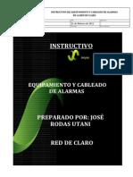 Instructivo de Cableado de Alarmas_Red de Claro