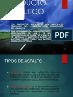 PRODUCTO ASFÁLTICO