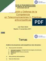 Tema9 Reg y Defensa de La Competencia en Las Teleco II 2011-1