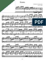 Scarlatti - Piano Sonata K0012