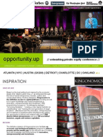 opportunity.up // unleashing private equity conference 2014 pitchdeck