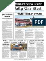 The Daily Tar Heel for November 4, 2013