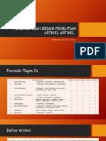 2. PERBANDINGAN DESAIN PENELITIAN ARTIKEL-ARTIKEL.pptx