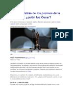 Historia Del Oscar