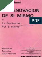 Renovación De Sí Mismo Y Realización Por Sí Mismo (I. K. Taimni)