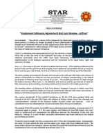 PressRelease-2013-Implement Malaysia Agrt Not Just Review -27 September 2013 -Revised.docx