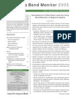 Asia Bond Monitor - April 2005