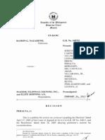 Ramon Nazareno vs Maersk Filipinas Crewing [Gr168703 February 26 2013] = Seafarer's Personal Doctor vs Company Designated Doctor