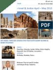 Believers Trip to Israel & Jordan April – May 2013