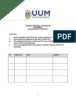 Assignment 1 SQQM1023