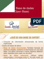 Bases de Datos Open Base
