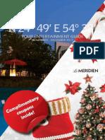 Le Meridien Entertainement Guide Nov. Dec. 2013