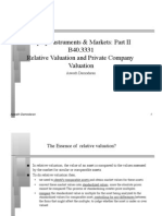 Relative valuation and pvt company baluation.pdf