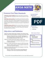 math lesson plan- november 4