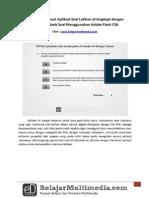 Tutorial Membuat Aplikasi Soal Latihan Dengan Bank Soal Menggunakan Adobe Flash CS6 - belajarmultimediacom.pdf