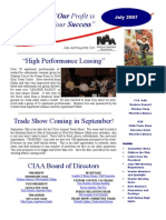 July CIAA Newsletter