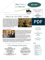 May CIAA Newsletter
