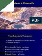 PCM II Tecnologias Cianuracion Au II Sesion IX