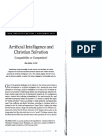 Artificial Intelligence & Christian Salvation