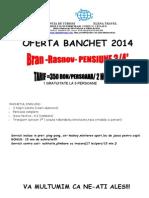 Oferta Banchete - Bran 2 Nopti