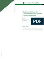 Studiu medical Universitatea Karlsruhe germană