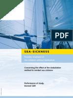 Studiu medical Sea-Sickness engleză